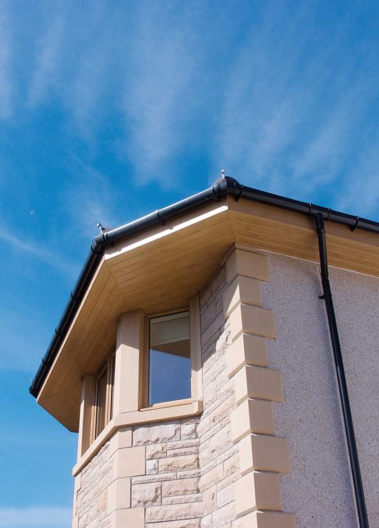 New uPVC guttering supply and installation