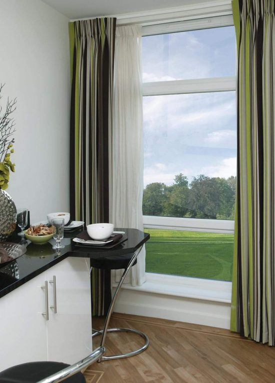 Energy efficient uPVC tilt and turn windows