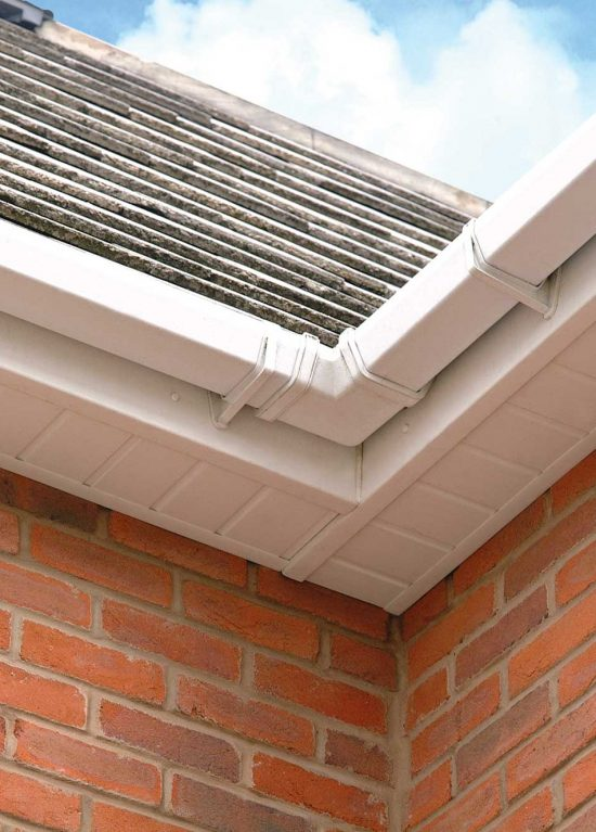 New uPVC guttering and soffits