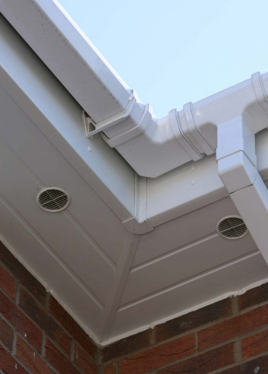 uPVC guttering and soffits