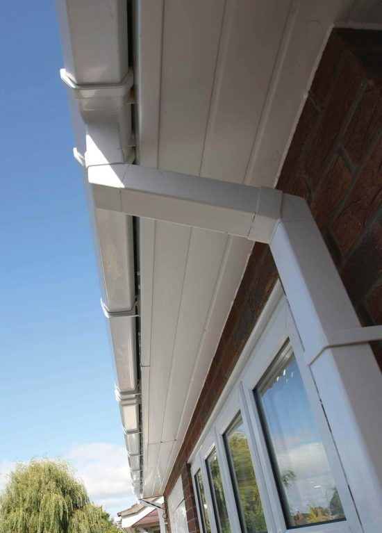 Installation of uPVC guttering and soffits